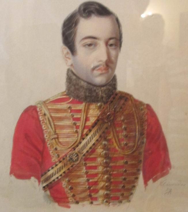 Портрет ротмистра Зотова. А.И.Клюндер. 1839г.
