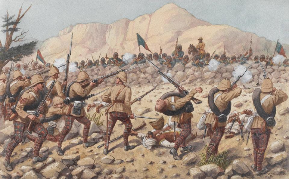 Хаки Второй англо-афганской войны