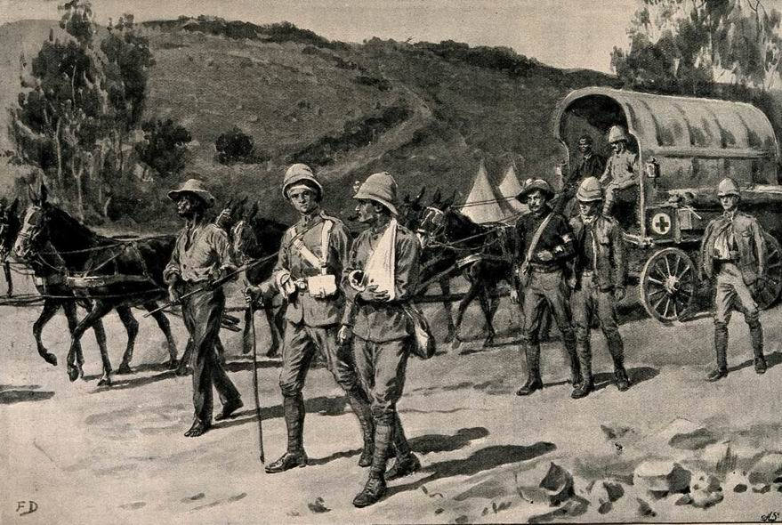 Возвращение в Ледисмит 31 октября 1899г.