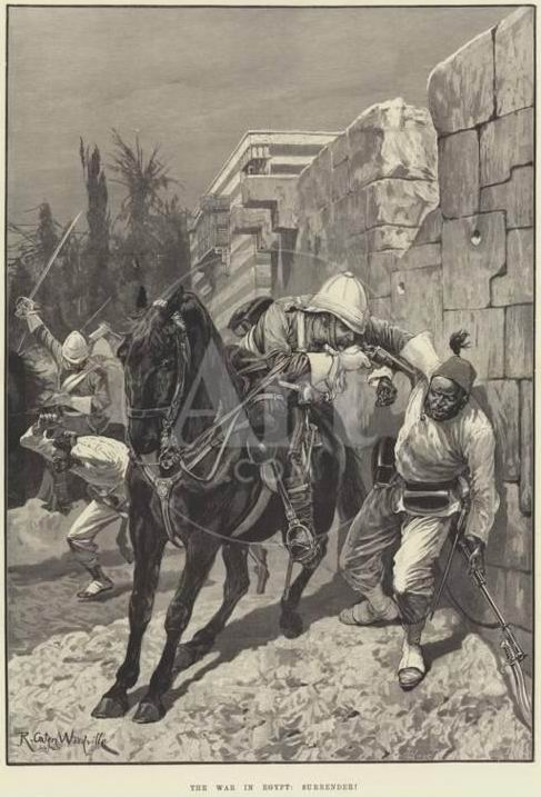 """Р.К. Вудвилль """"Война в Египте: Сдавайся!"""", 1882г."""