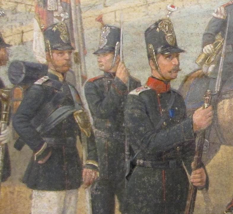 Рядовой 1го батальона Муромского пехотного полка.
