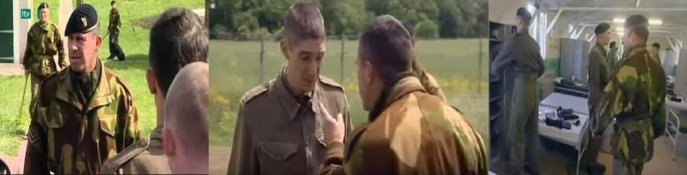А вот то, что ее носил фельдмаршал Монтгомери, или эти полковые полицейские и инструктора в непарашютной учебке перед неопытными новобранцами - это уже тянет на Алли.