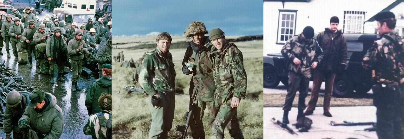 Денисон смоки в Фолклендскую войну 1982г. Алли как трах!