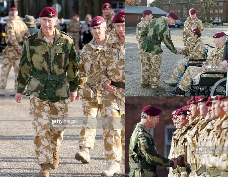 Принц Чарльз в своем шефском Парашютном полку. Носить Денисон смок в 2000-е это Королевски алли (roy-ally)!