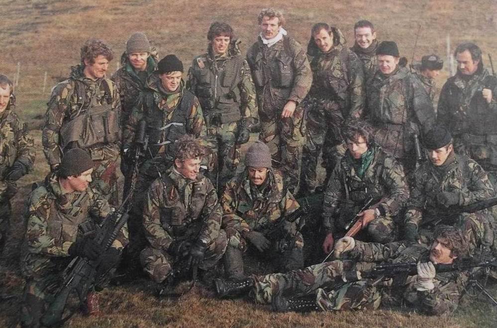 СБС на Фолклендах, 1982г.