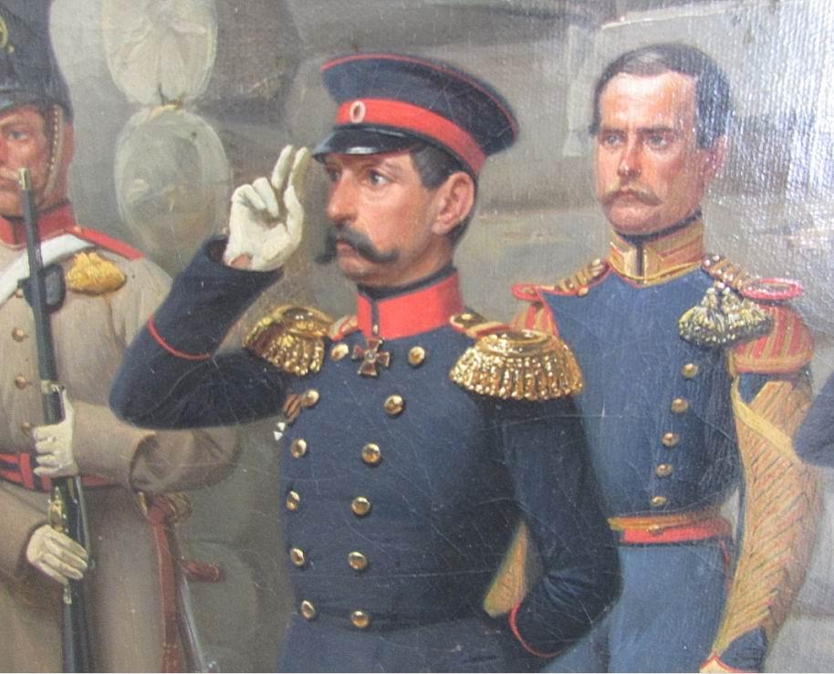 Командир полка (в 1851-57гг) генерал-майор М.Н. Шевич.