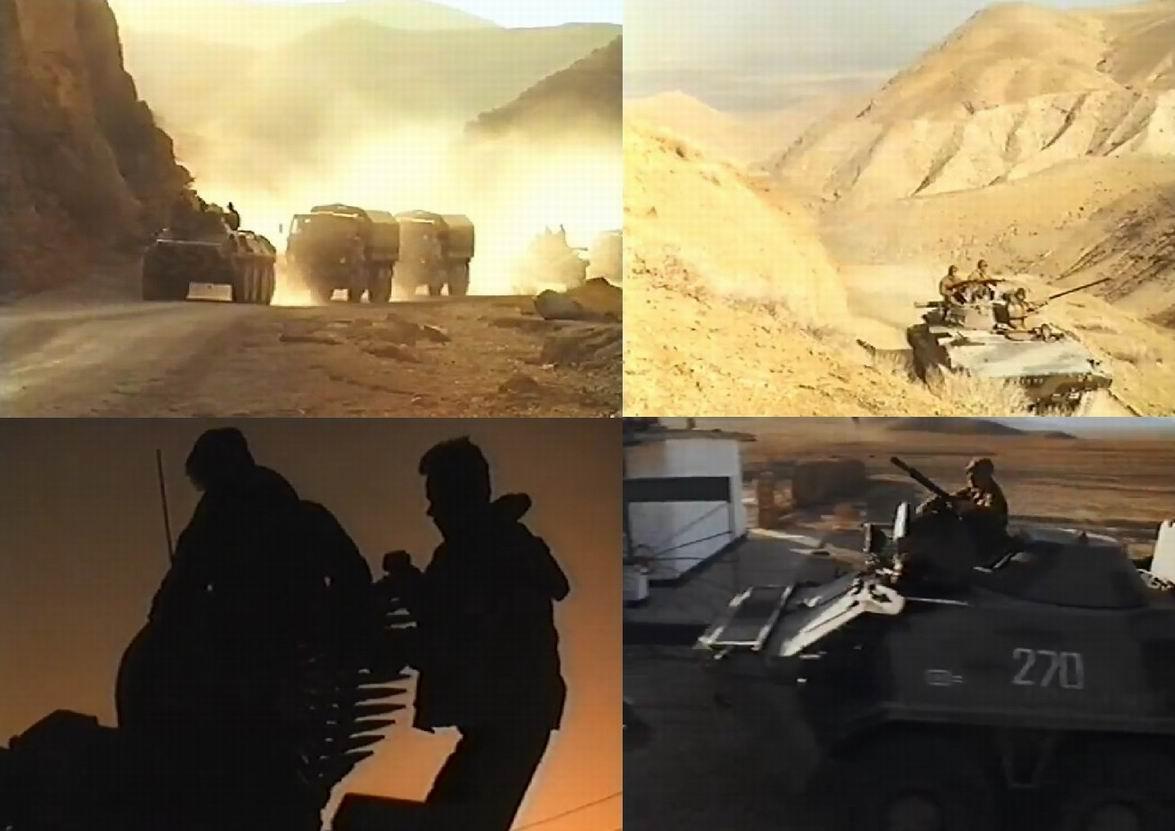 Просто красивые кадры из фильма. Возможно, знатоки опознают тактические знаки на броне.