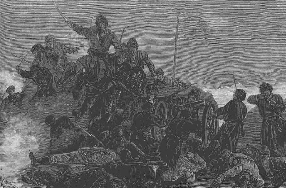 """""""Ихняя взяла!"""" Ночная вылазка текинцев против траншей апшеронцев 28 декабря 1880г."""