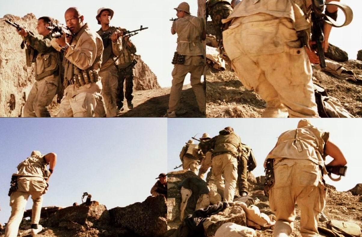 Также штаны ОКЗК-Д мелькают на сержанте Афанасии в «Девятой роте» (2005). А вот здесь, в Афганистане, они выглядят неуместно и это можно записать в ошибки  фильма.