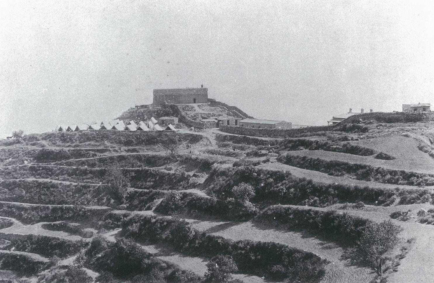 Форт Каваньяри (Гюлистан), 1897г.