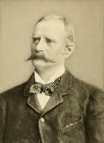 Подполковник Джон Хаутон (1852-1898).