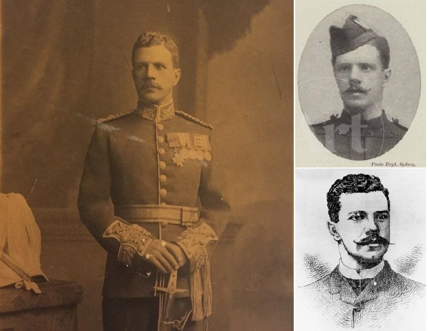 Генерал Чарльз Де Воэ (1853-1911).