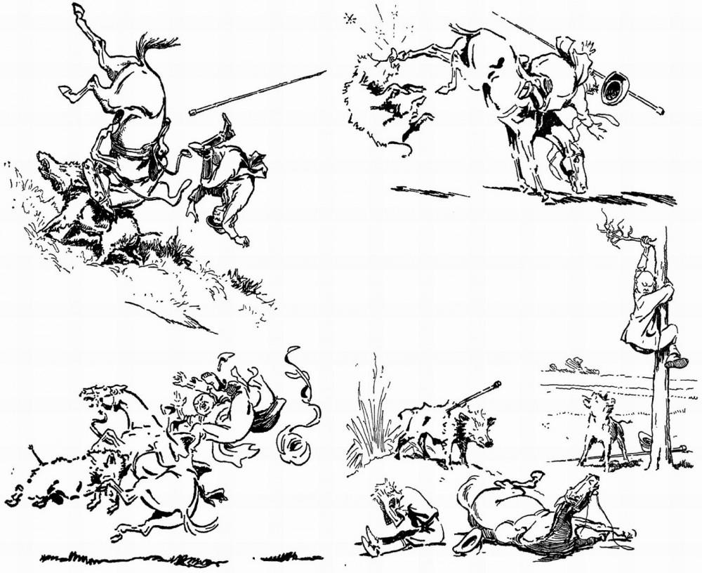 Различные опасные ситуации на охоте.