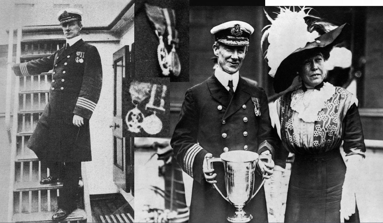 А.Г.Рострон в 1912г.