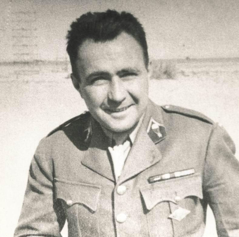 Коммандант Берже в 1942г.