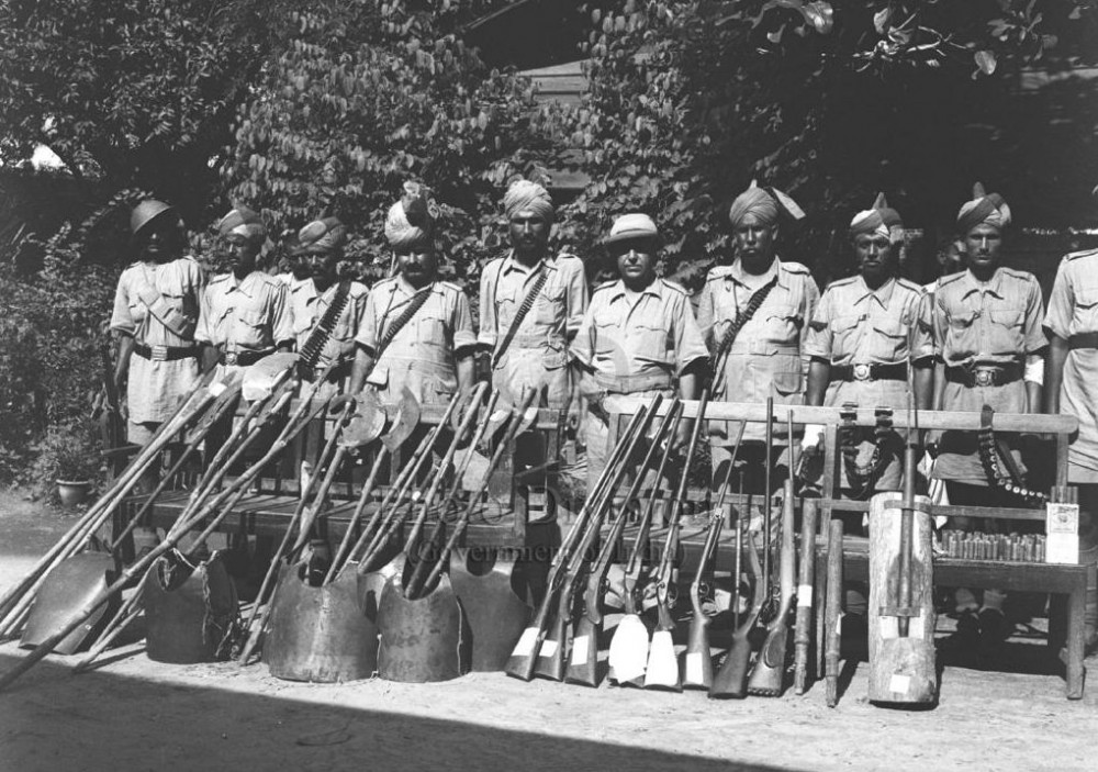 Изъятое оружие, сентябрь 1947г.