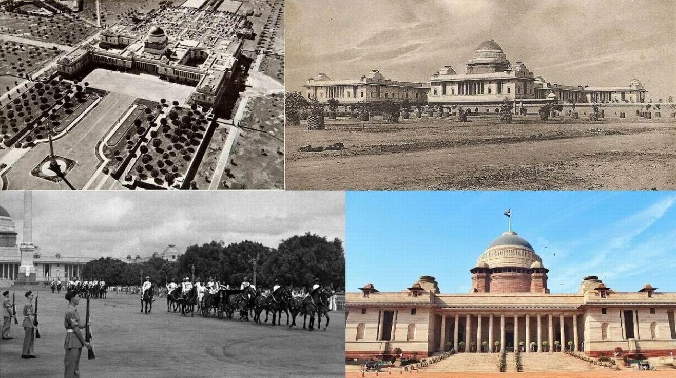 Резиденция вице-короля в Нью-Дели, сейчас Раштрапати-Бхаван (Президентский дворец).