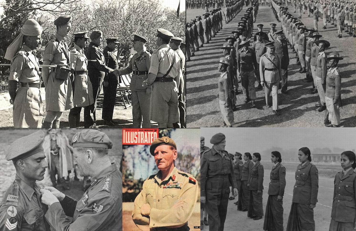 Упоминаемые в этой главе люди знамениты и не нуждаются в особых представлениях, поэтому подобраны фотографии, относящиеся непосредственно к Индии. Вверху - сэр Арчибальд Уэйвелл в 1945г., внизу - сэр Клод Окинлек в 1945-47гг.