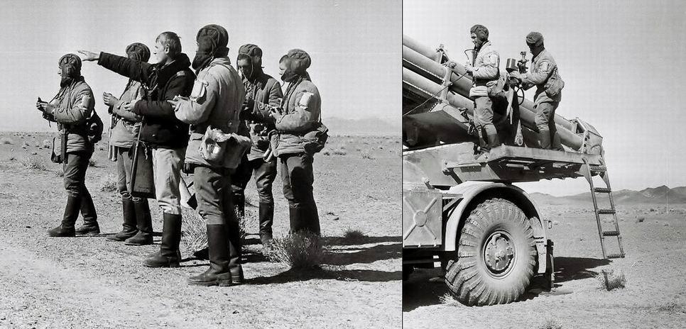 ИПП, пришитые на рукав, Афганистан, 1984г.