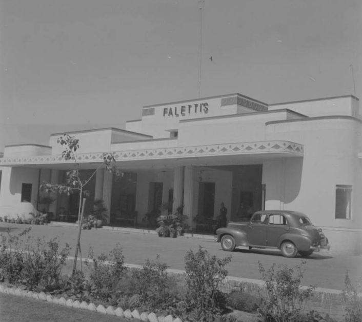 "Отель ""Фалетти`с"" в 1950е гг."