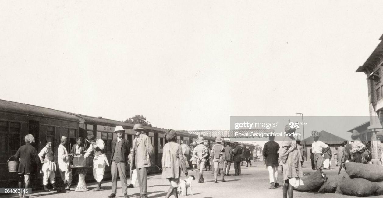 Вокзал в Равалпинди, 1929г.