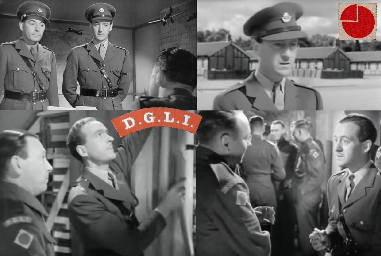 """""""Путь вперед"""" (1944). В правом верхнем углу - настоящая нашивка 4й дивизии. Кокарда-крест отсылка к стрелковым и легкопехотным традициям."""