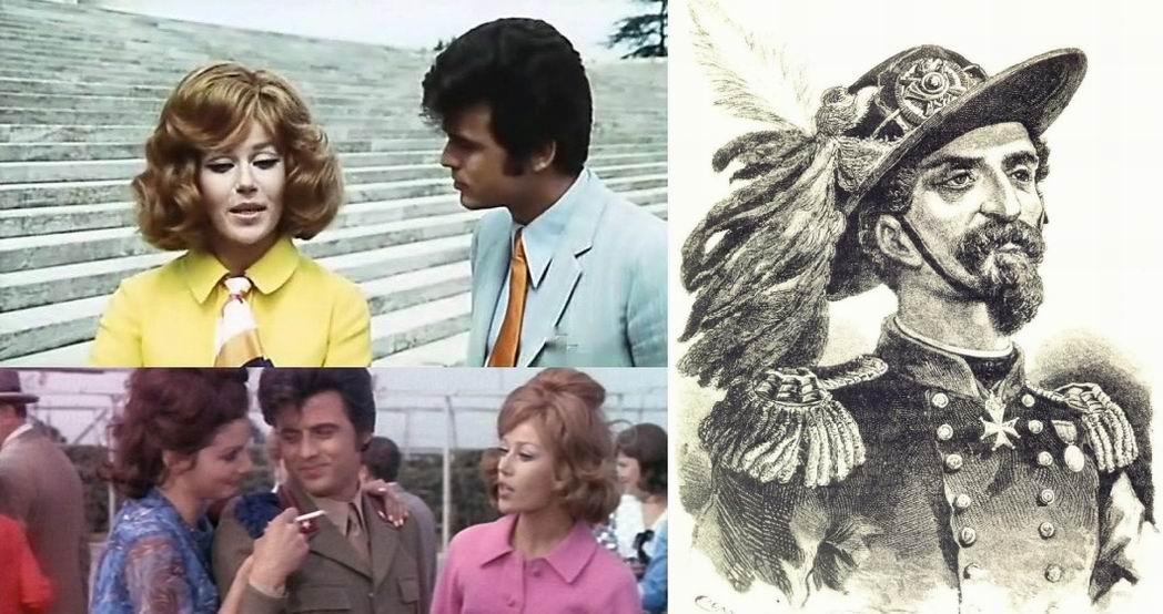 Ради верхней левой сцены фильм видимо и был разрешен в Союзе. Спагетти-битлз, длинные волосы и яркие наряды - но отслужить надо!