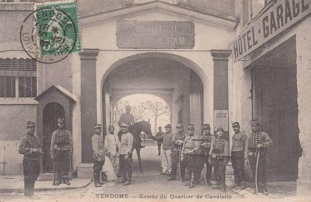 20й конно-егерский полк, Вандом, 1907г.