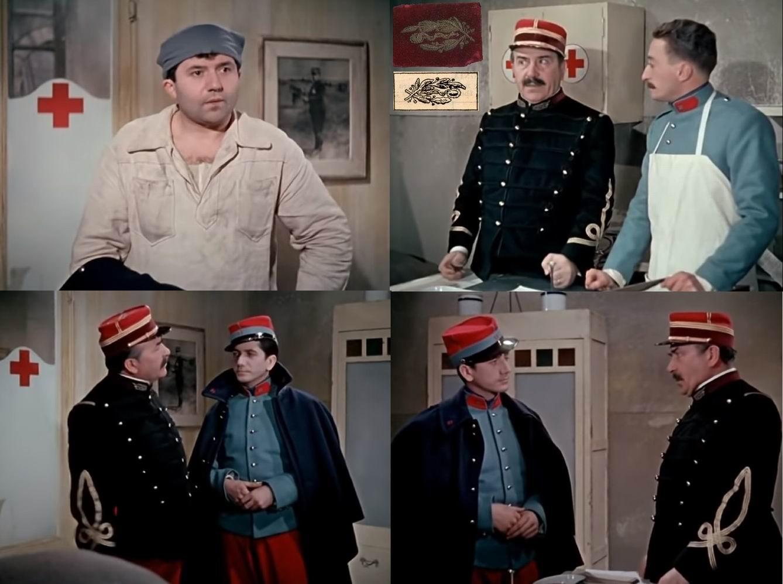 У доктора, разумеется, малиновый приборный цвет и особое шитье на воротнике.