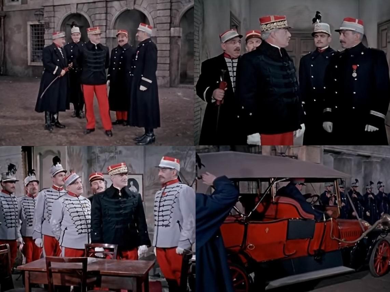И даже приезд генерала ничего не меняет в жизни полка, а скорее добавляет сумбура.
