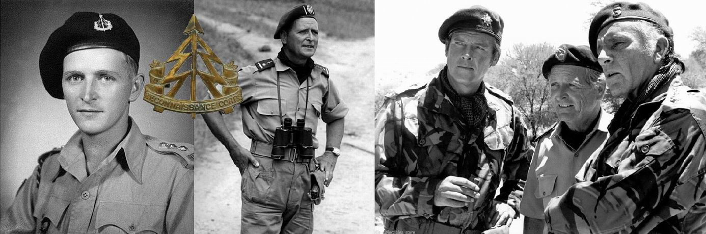 Майк Хоар в Индии, 1944г., Конго, 1964г., и на съемках фильма с Роджером Муром и Ричардом Бёртоном.