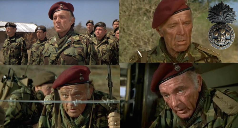 Полковник Фолкнер, Королевский Уэльский фузилерный полк.