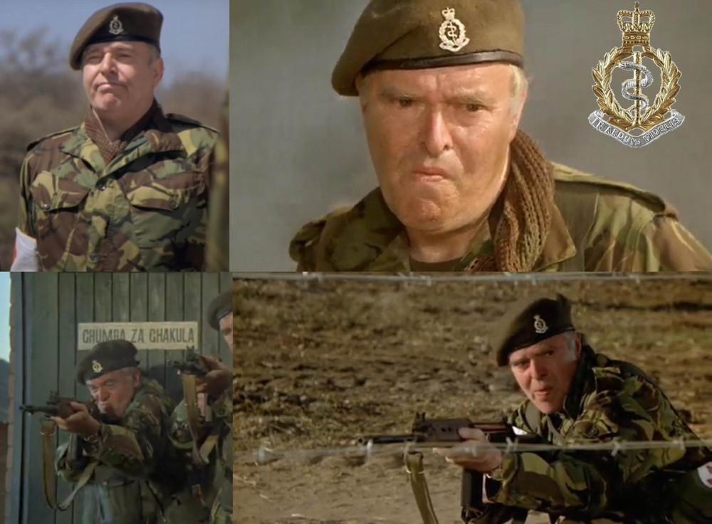 Артур Уитти, Королевский армейский медицинский корпус.