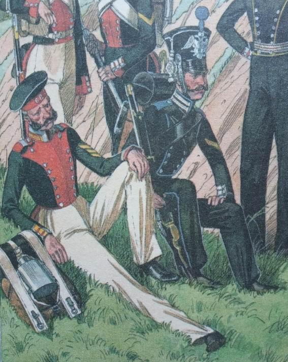Рядовой Лейб-Гвардии Финского стрелкового батальона, 1829-1833гг.