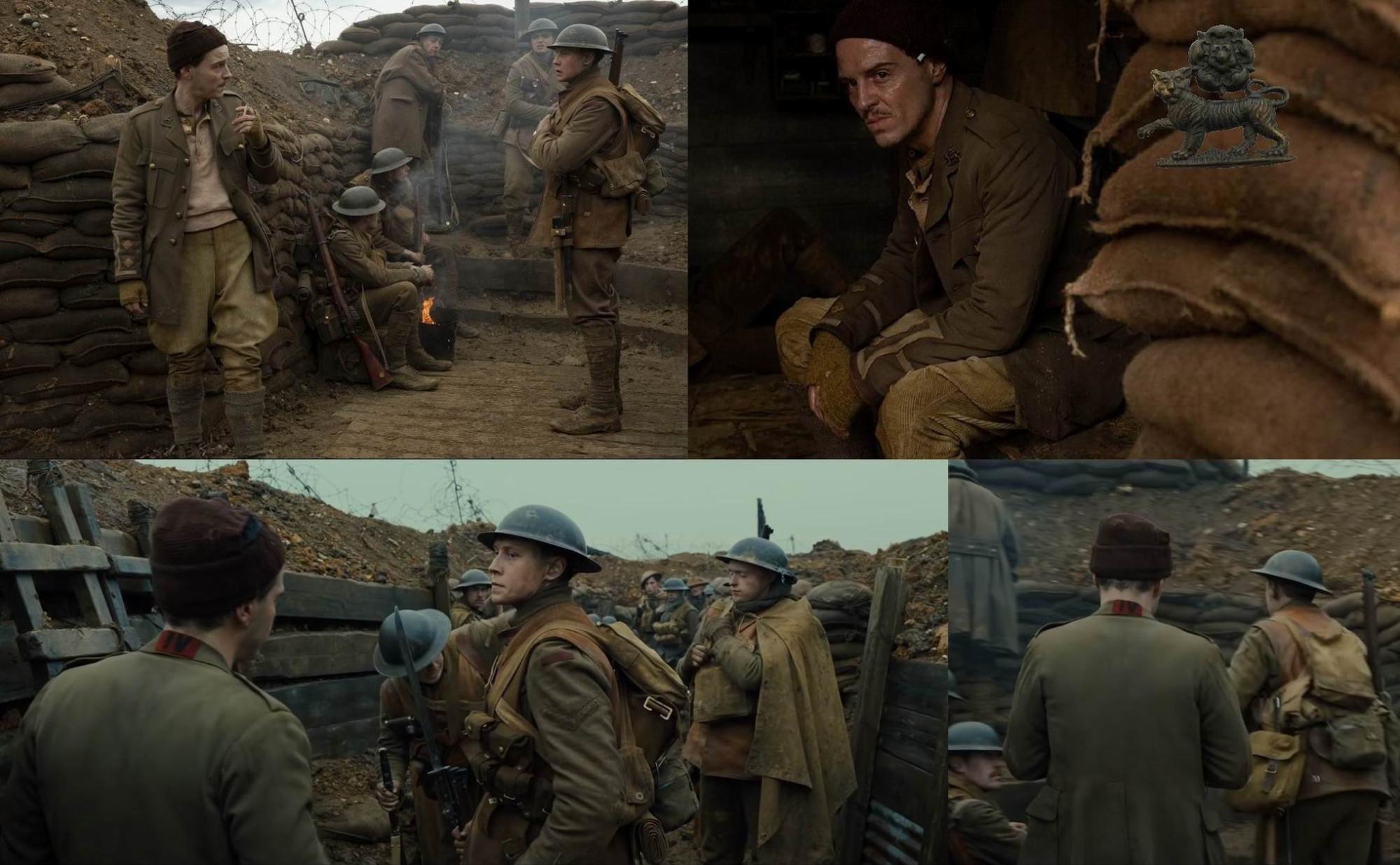 Внизу слева - на солдате на заднем плане виден нагрудник для гранат.