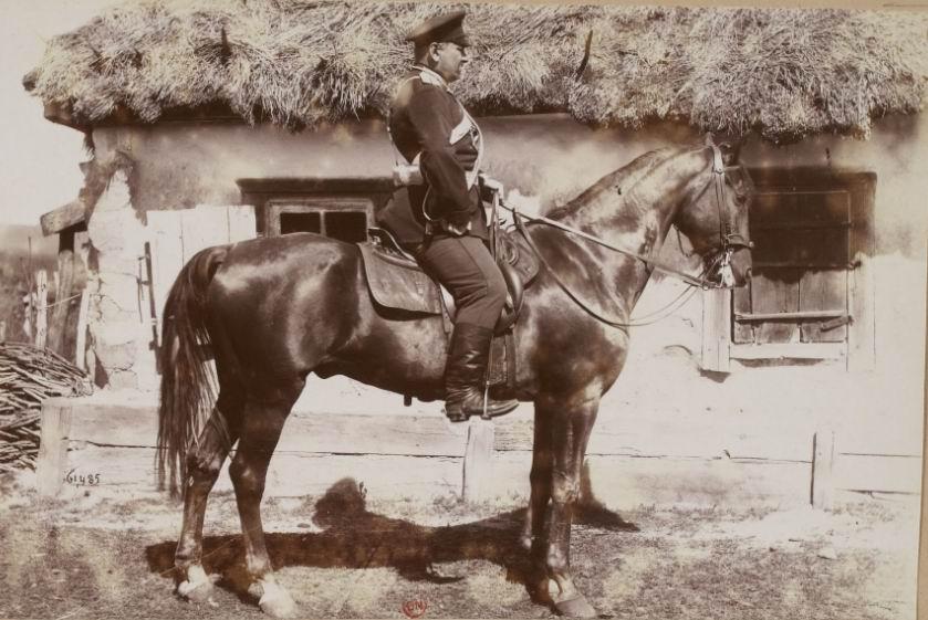 Офицер 27го драгунского Киевского полка, 1892г.