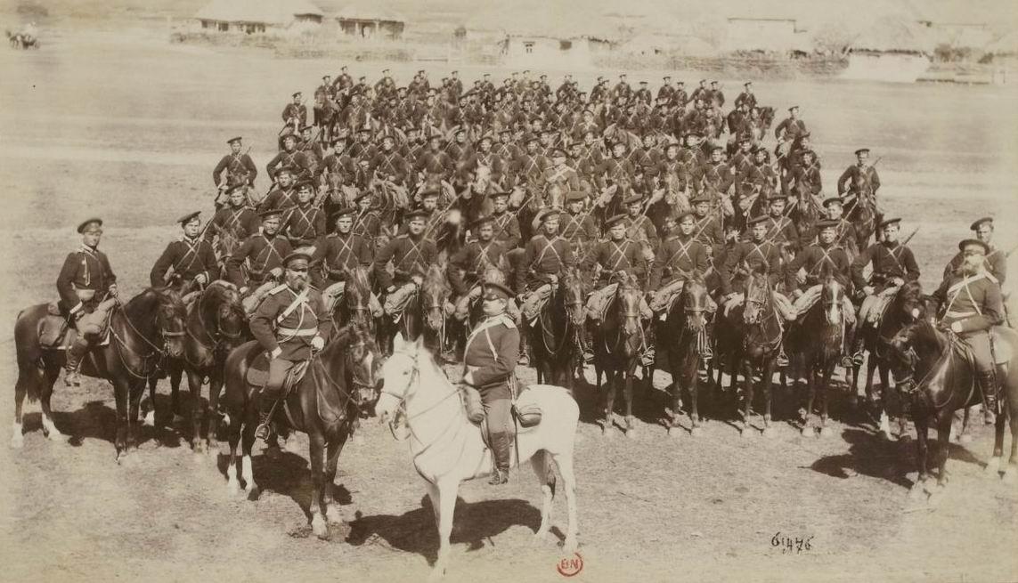 28й драгунский Новгородский полк, 1892г.