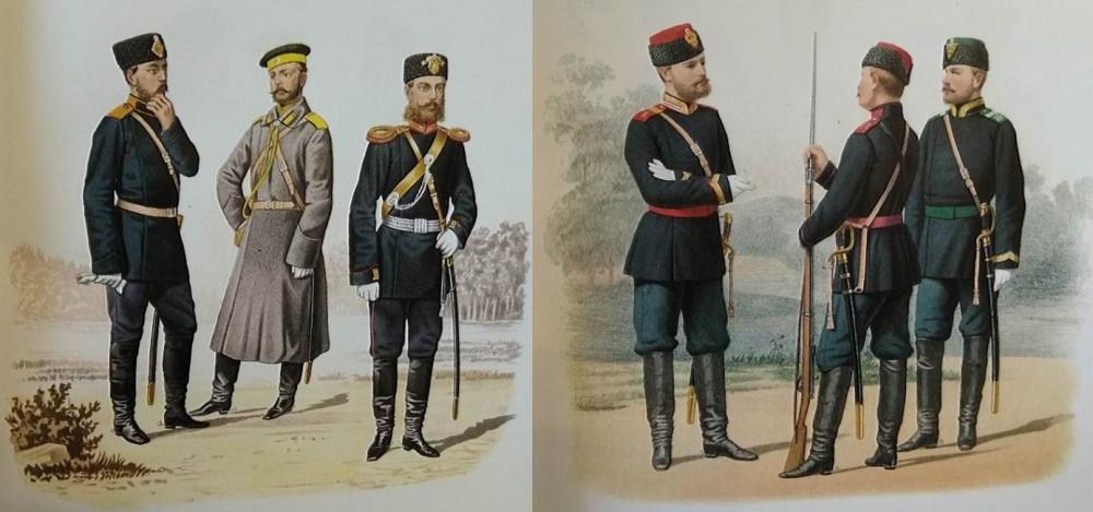 И снова драгуны 1882-1897гг.