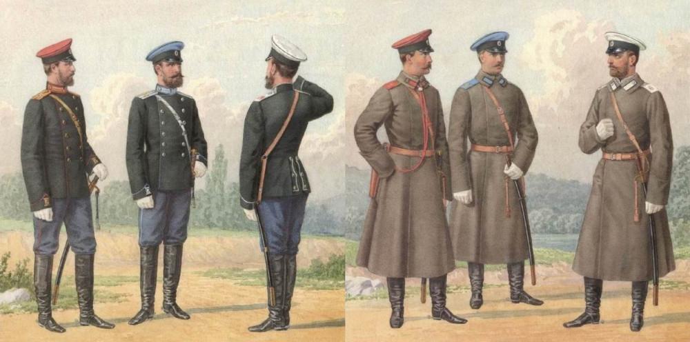 Драгуны 1897г.