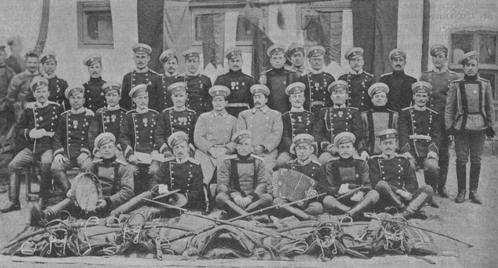 Последние драгуны - запасные 1907г., 6го эскадрона 8го гусарского Лубенского полка.