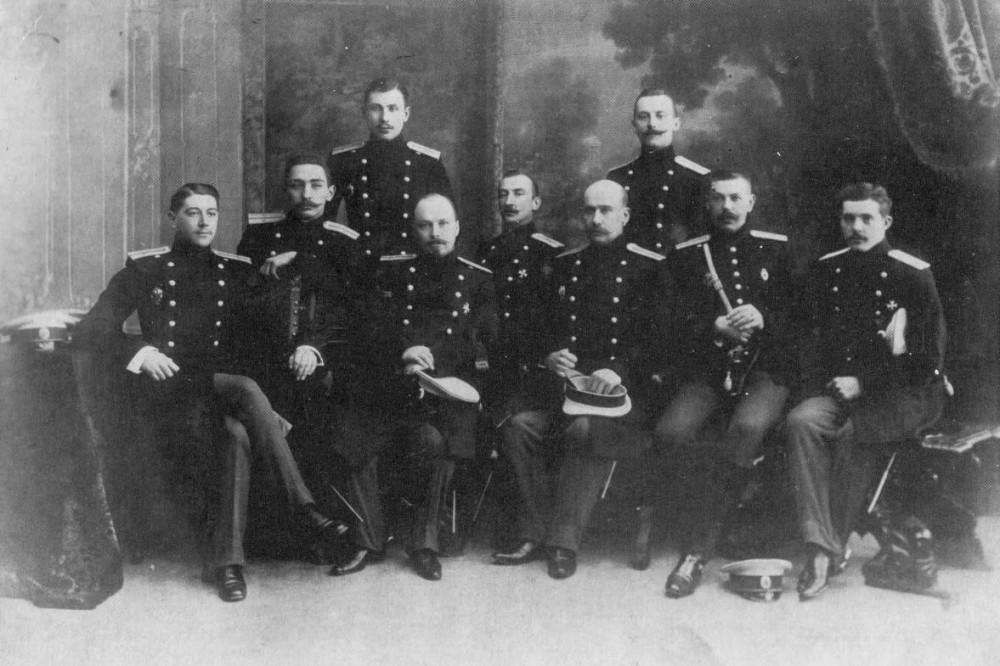Офицеры Лейб-Гвардии Кавалергардского полка, 1904г.
