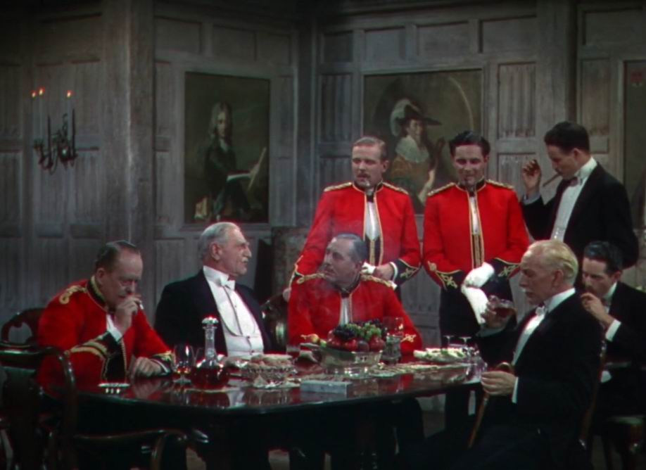 """""""Четыре пера"""" (1939). Отец Этни рассказывает о своих подвигах."""