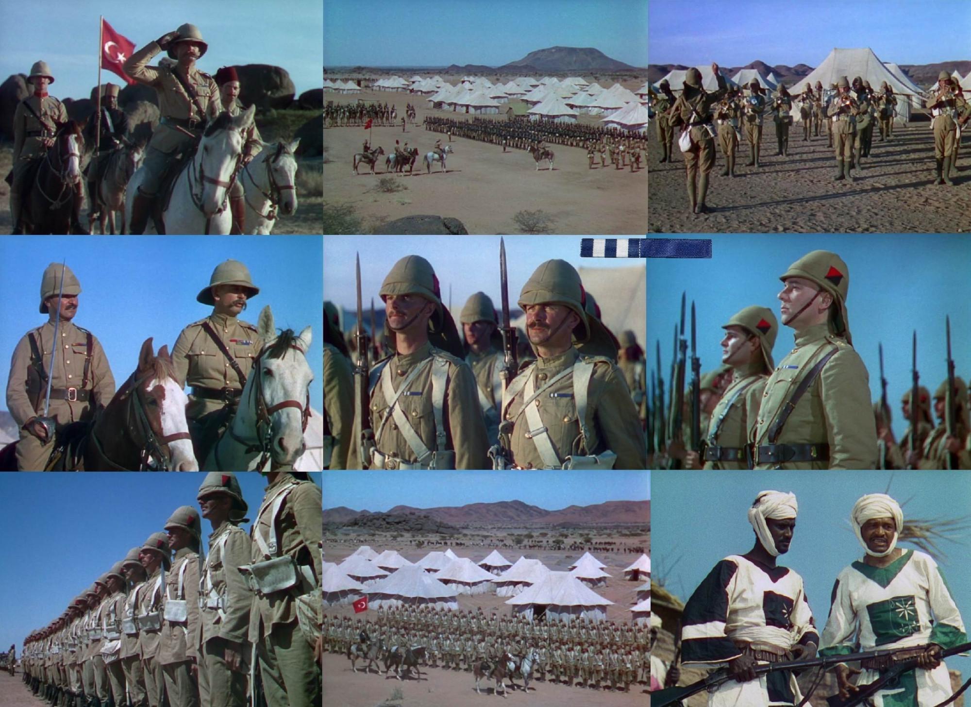У некоторых солдат и офицеров планки медалей за Египет и Судан 1882-1889гг., показанные в первой части.
