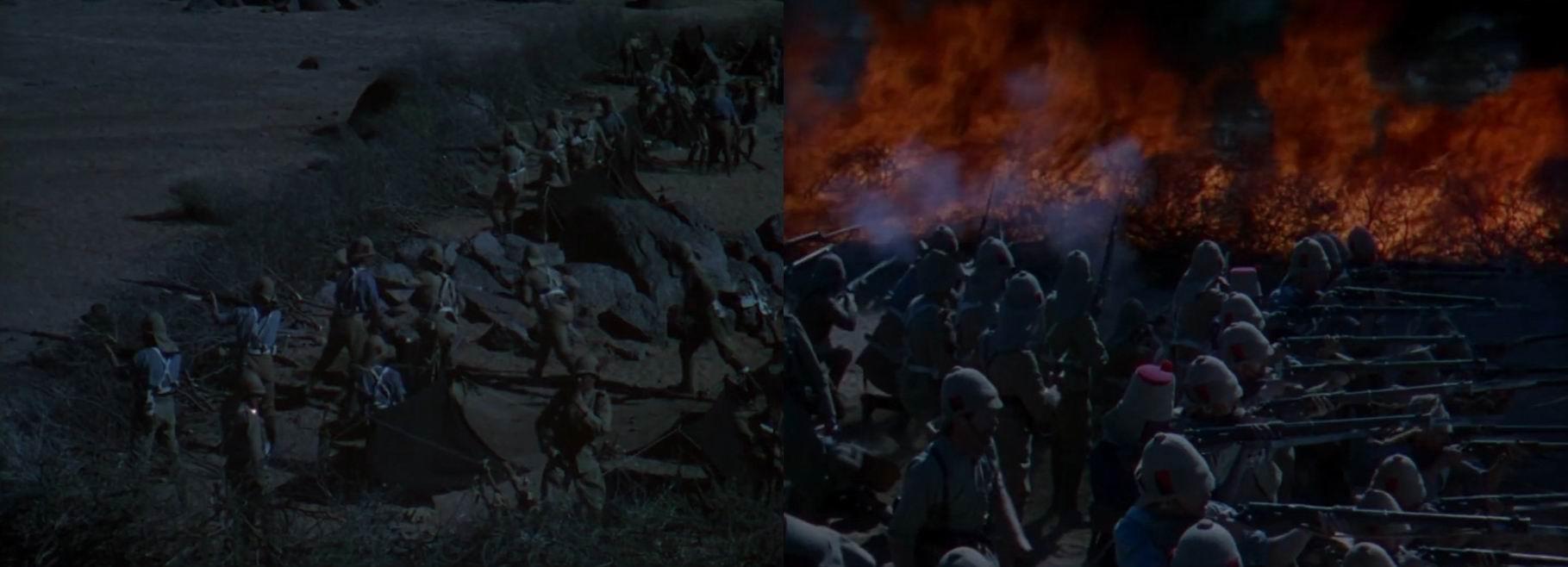 У солдат ранние Ли-Энфилды, внешне похожие на Ли-Метфорды, да и по датам все равно подходят.