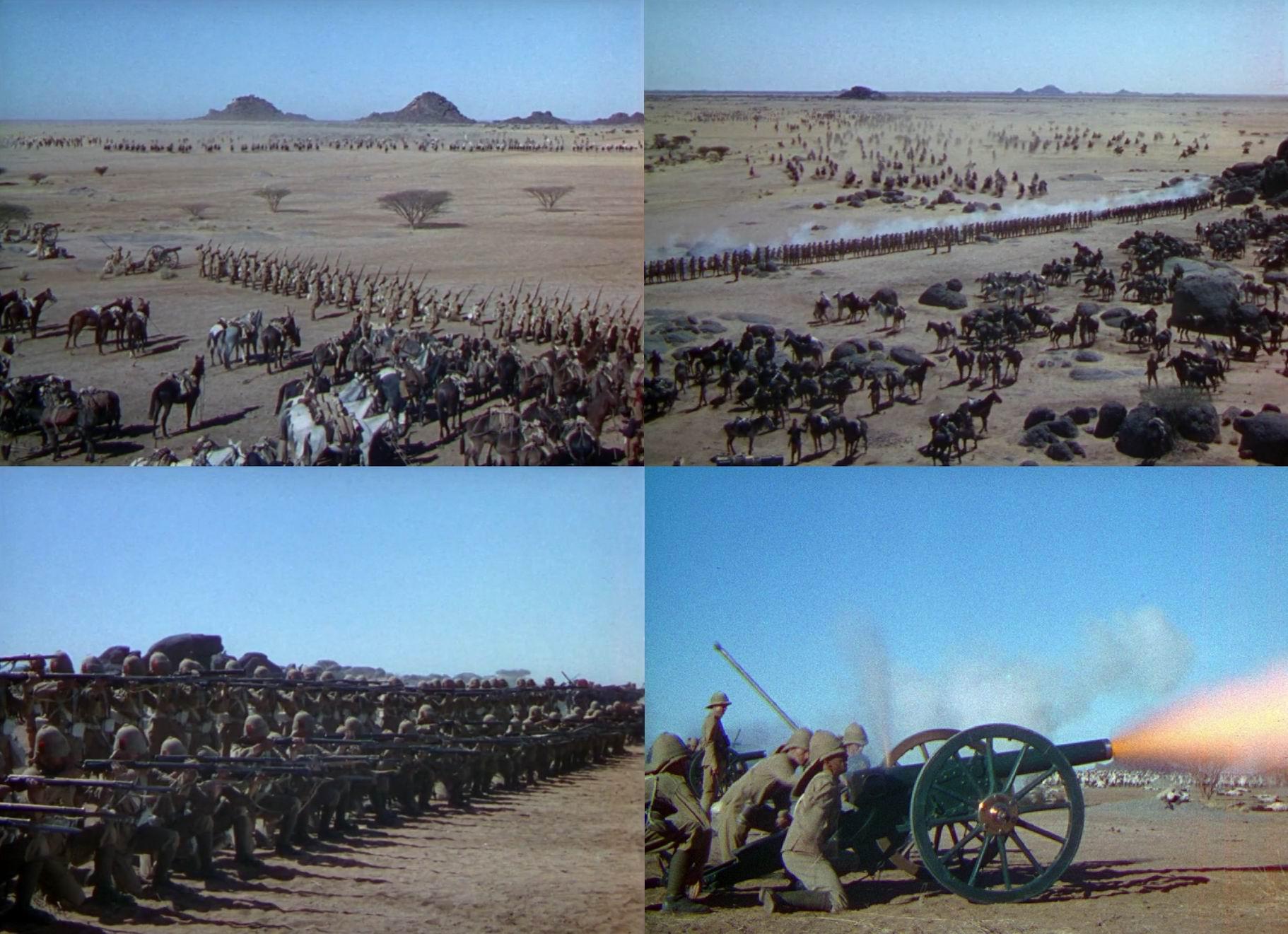 """Четыре пера"" (1939). Битва при Омдурмане 1898г."