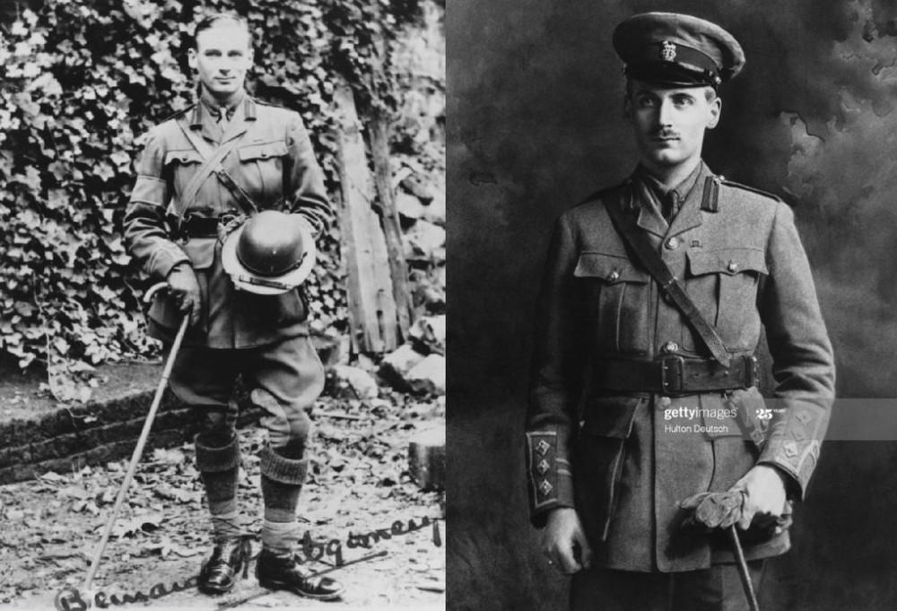 Бернард Монтгомери в Первую мировую войну.