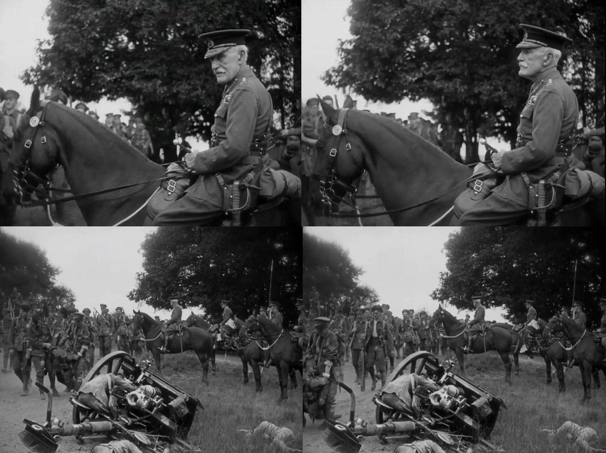 """В 1926г. генерал Г.Л. Смит-Дорриен снялся в роли самого себя в немом фильме """"Монс""""."""