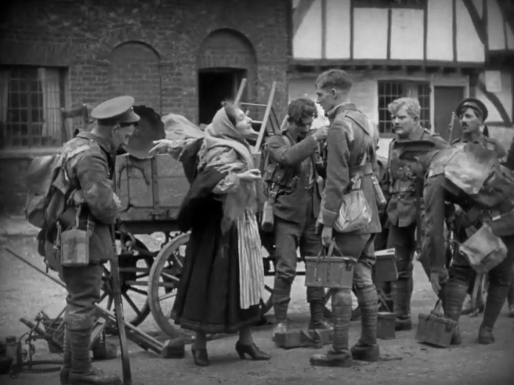 """Кадр из фильма """"Монс"""" (1926)."""