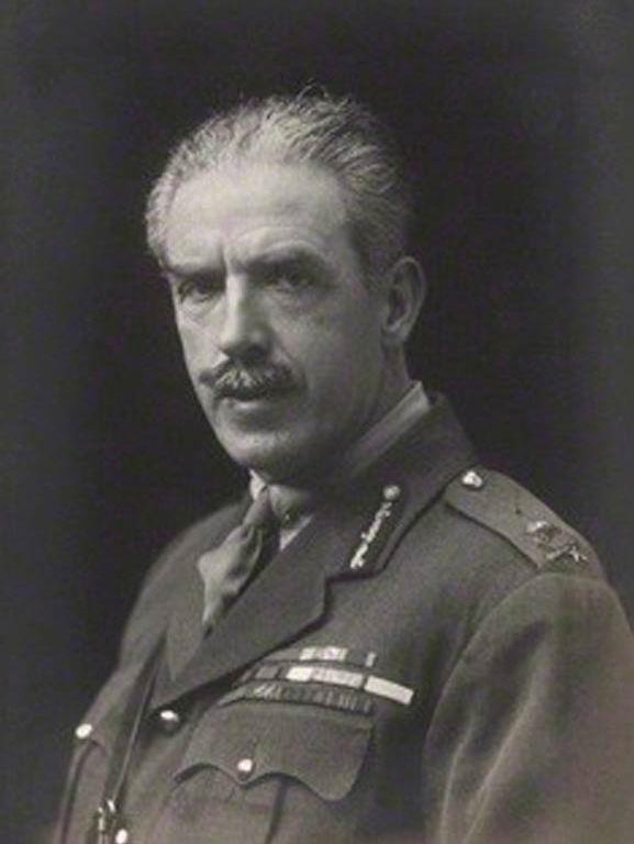 Сэр Том Бриджес в 1918г.