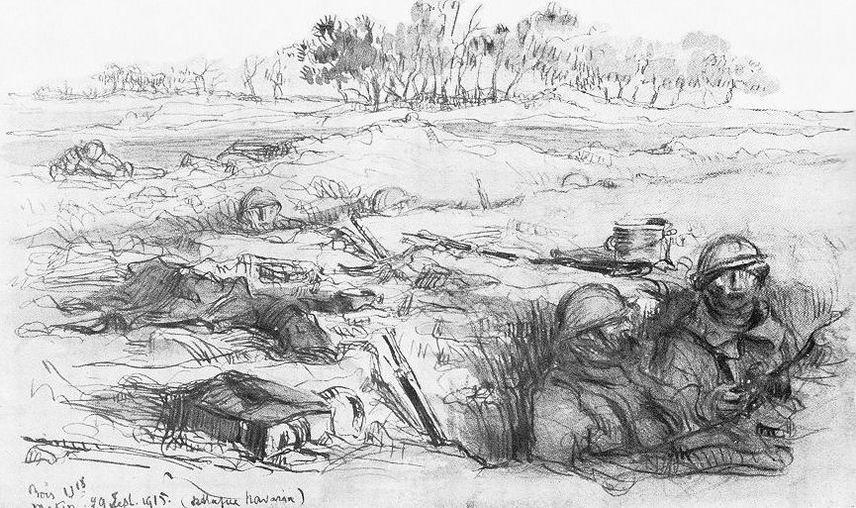 Ферма Наварин, сентябрь 1915г.